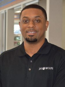 Terrence Harden at Jay Wolfe Honda Service Department