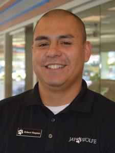 Roberto Magana at Jay Wolfe Honda Service Department