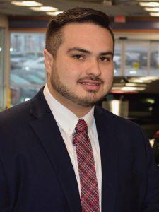 Luis Gonzalez-Rosas at Jay Wolfe Honda Sales Department