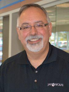 Steve Barzilla at Jay Wolfe Honda Service Department