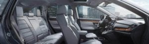 CR-V Interior Easy Fold Back Seat